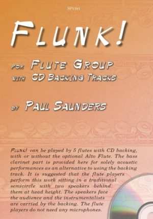 Paul Saunders Flunk Cover